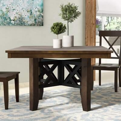 Gracie Oaks Losoya Dining Table Gracie Oaks With Regard To Tejeda 5 Piece Dining Sets (View 19 of 25)