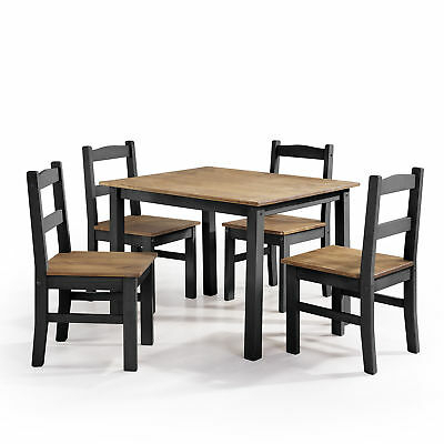 Gracie Oaks Rodgers Solid Wood 5 Piece Dining Set Direct From Wayfair Pertaining To Autberry 5 Piece Dining Sets (Photo 10 of 25)