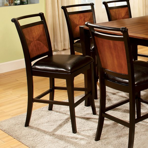 Great Price Exquisite 7 Piece Counter Height Dining Sethokku In Kieffer 5 Piece Dining Sets (Photo 11 of 25)