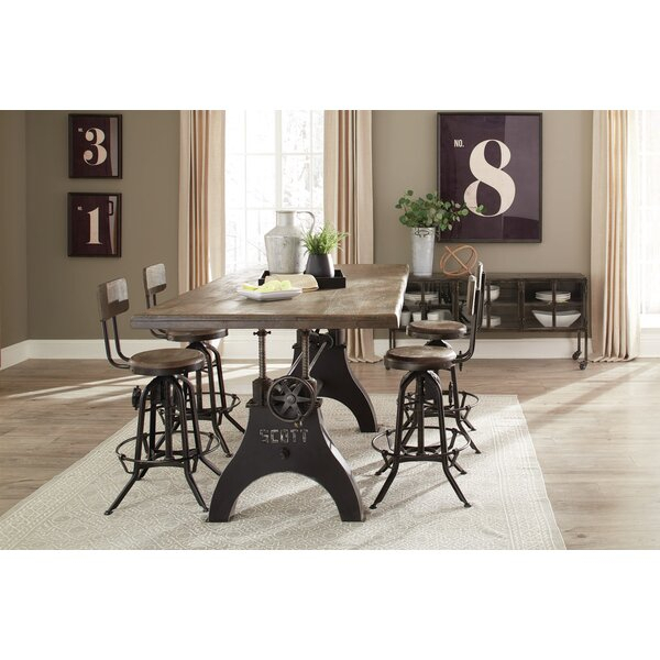 Great Price Kylie 5 Piece Dining Set17 Stories Top Reviews with Adan 5 Piece Solid Wood Dining Sets (Set Of 5)