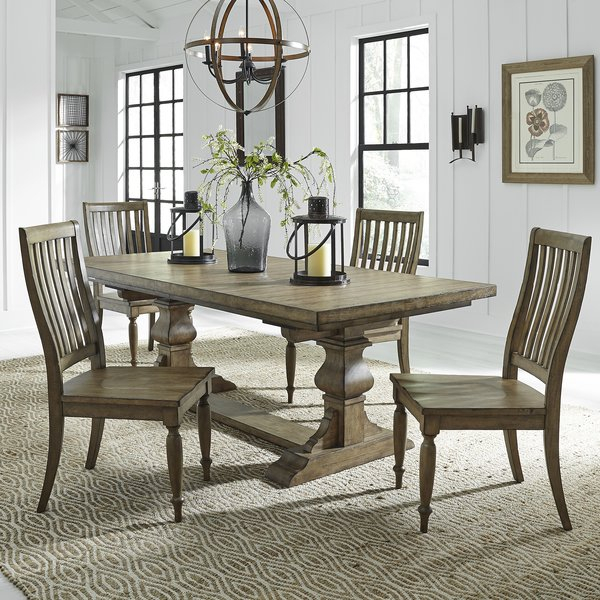 Great Price Saladino 3 Piece Dining Setlatitude Run Cool With Regard To Hood Canal 3 Piece Dining Sets (View 14 of 25)