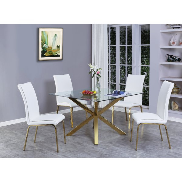 Great Price Wagner 5 Piece Dining Setmercer41 Read Reviews With Rossiter 3 Piece Dining Sets (Image 10 of 25)