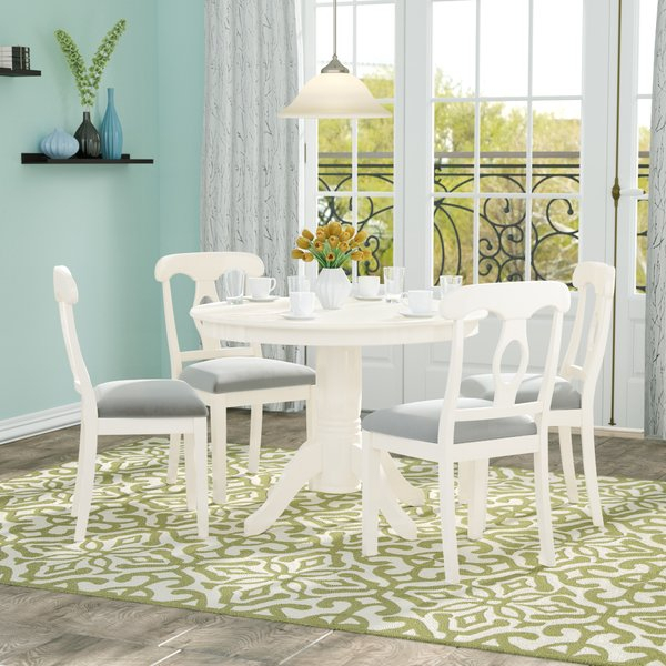 Greyson Living Dining Sets | Wayfair Within Rarick 5 Piece Solid Wood Dining Sets (Set Of 5) (Image 10 of 25)