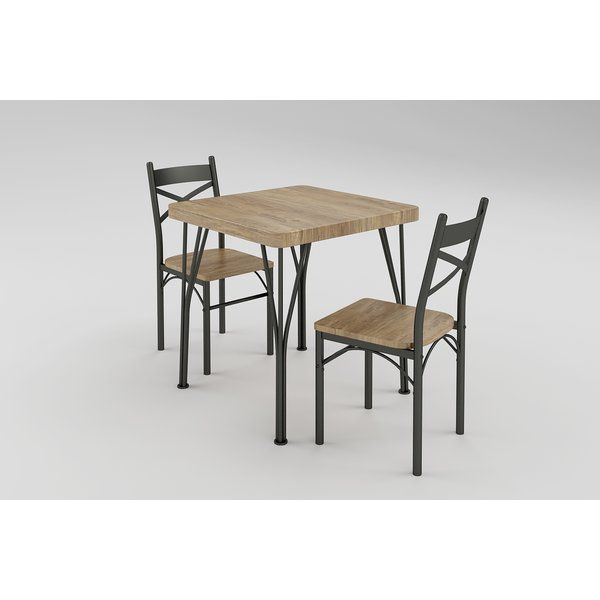 Guertin 3 Piece Dining Set | Apartment Living In Style | 3 Piece for Noyes 5 Piece Dining Sets