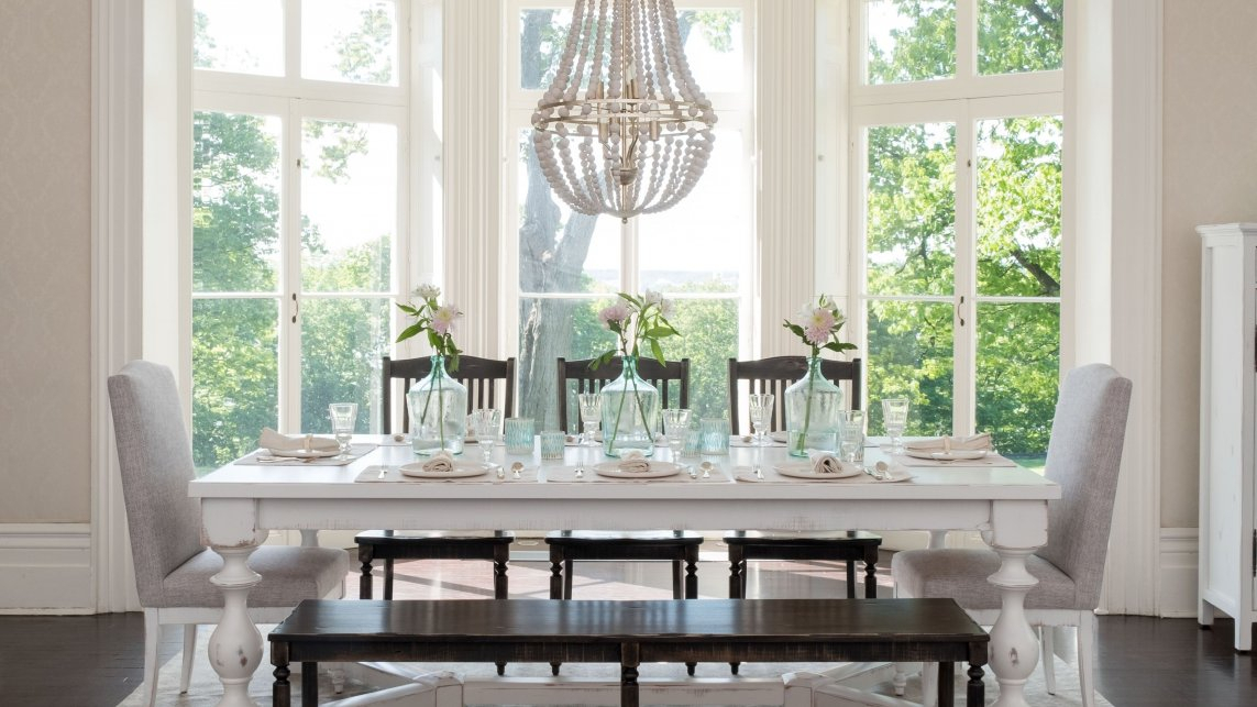 Handcrafted In North America – Kitchen And Dining Room – Canadel In North Reading 5 Piece Dining Table Sets (Photo 16 of 25)