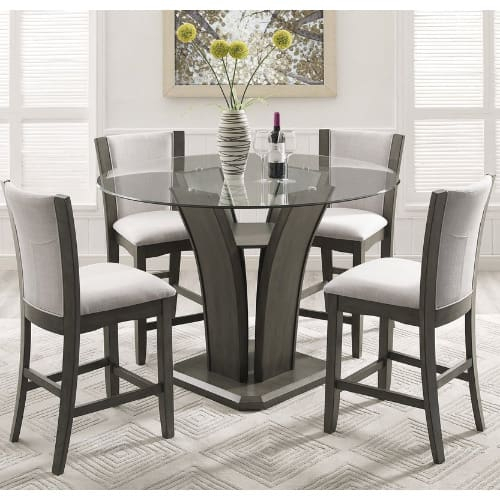 Handys Askern 3 Piece Counter Height Dining Set | Konga Online Shopping inside Askern 3 Piece Counter Height Dining Sets (Set of 3)