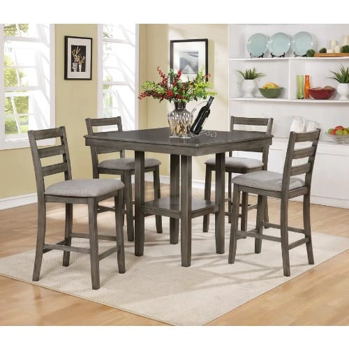 Handys Askern 3 Piece Counter Height Dining Set | Konga Online Shopping With Askern 3 Piece Counter Height Dining Sets (Set Of 3) (View 7 of 25)