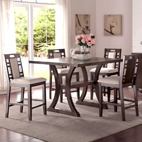 Handys Askern 3 Piece Counter Height Dining Set | Konga Online Shopping With Regard To Askern 3 Piece Counter Height Dining Sets (Set Of 3) (Photo 11 of 25)