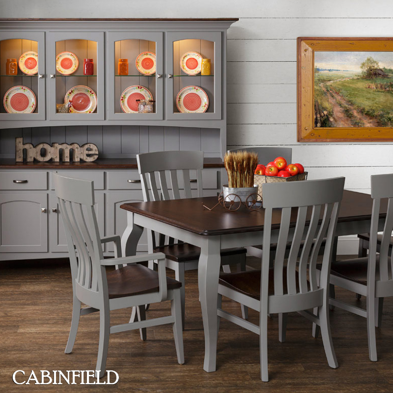 Home Decorating With Farmhouse Style Furniture And Decor With Falmer 3 Piece Solid Wood Dining Sets (Image 22 of 25)