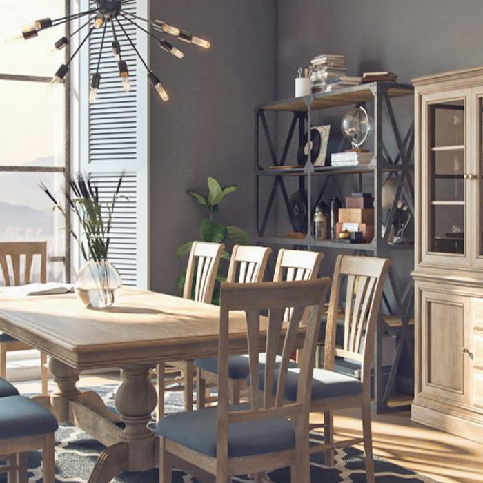 Home • Roomes Furniture & Interiors • Make Yourself A Home™ Pertaining To Chelmsford 3 Piece Dining Sets (View 20 of 25)