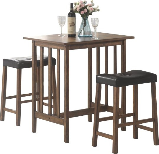 Hood Canal 3 Piece Dining Set With Hood Canal 3 Piece Dining Sets (View 2 of 25)