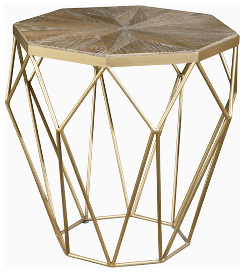 Isolde End Table With Isolde 3 Piece Dining Sets (View 18 of 25)