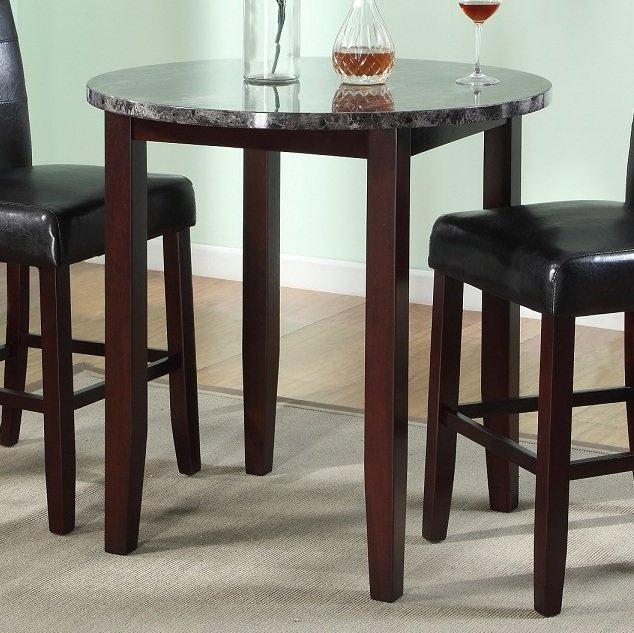 Janmarie 3 Piece Counter Height Dining Set Pertaining To Mizpah 3 Piece Counter Height Dining Sets (View 8 of 25)