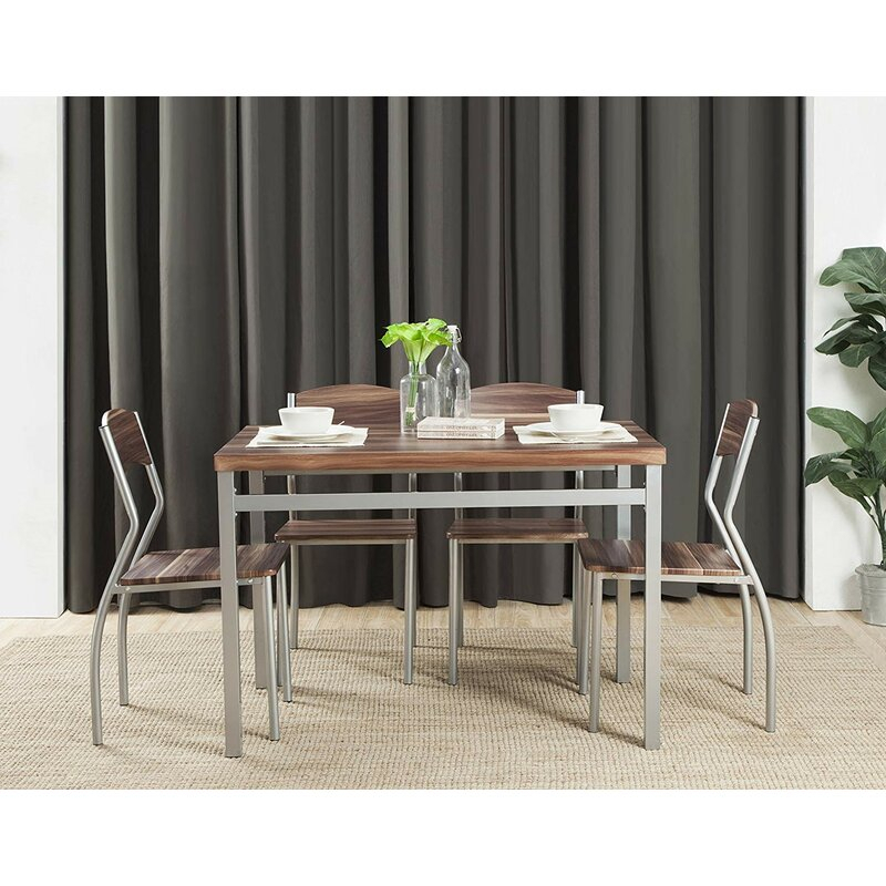 Kaelin 5 Piece Dining Set Throughout Kaelin 5 Piece Dining Sets (View 3 of 25)