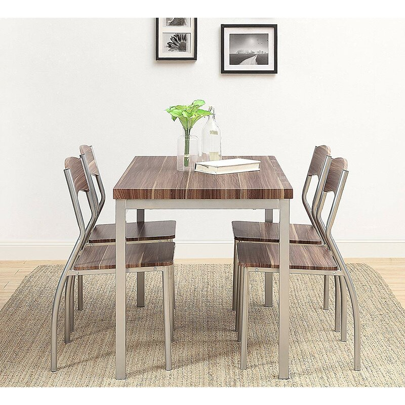 Kaelin 5 Piece Dining Set with regard to Kaelin 5 Piece Dining Sets