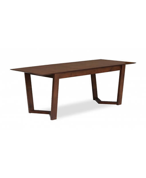 Kaelin Extendable Dining Table Cocoa intended for Kaelin 5 Piece Dining Sets