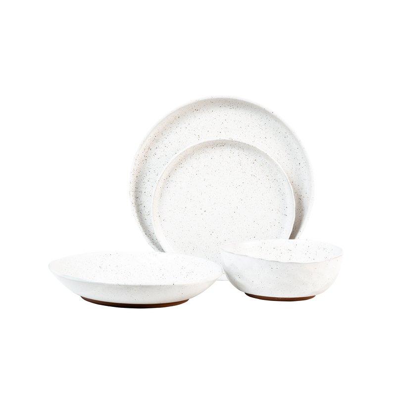 Kaya 16 Piece Dinnerware Set, Service For 4 Pertaining To Kaya 3 Piece Dining Sets (Image 8 of 25)