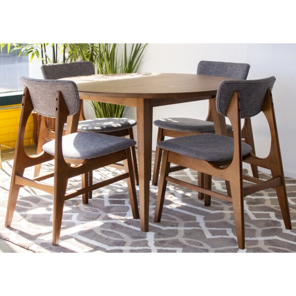 Featured Image of Falmer 3 Piece Solid Wood Dining Sets