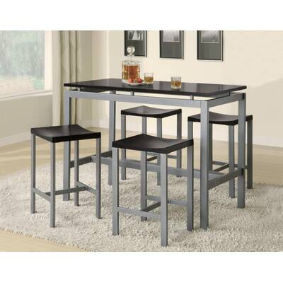 Kerley 4 Piece Solid Wood Dining Set & Reviews | Allmodern In Kerley 4 Piece Dining Sets (View 2 of 25)