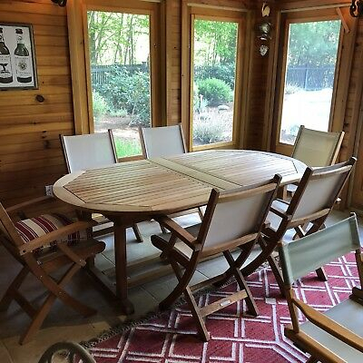 Kingsley Bate Teak Outdoor Furniture | Ebay With Bate Red Retro 3 Piece Dining Sets (Photo 21 of 25)