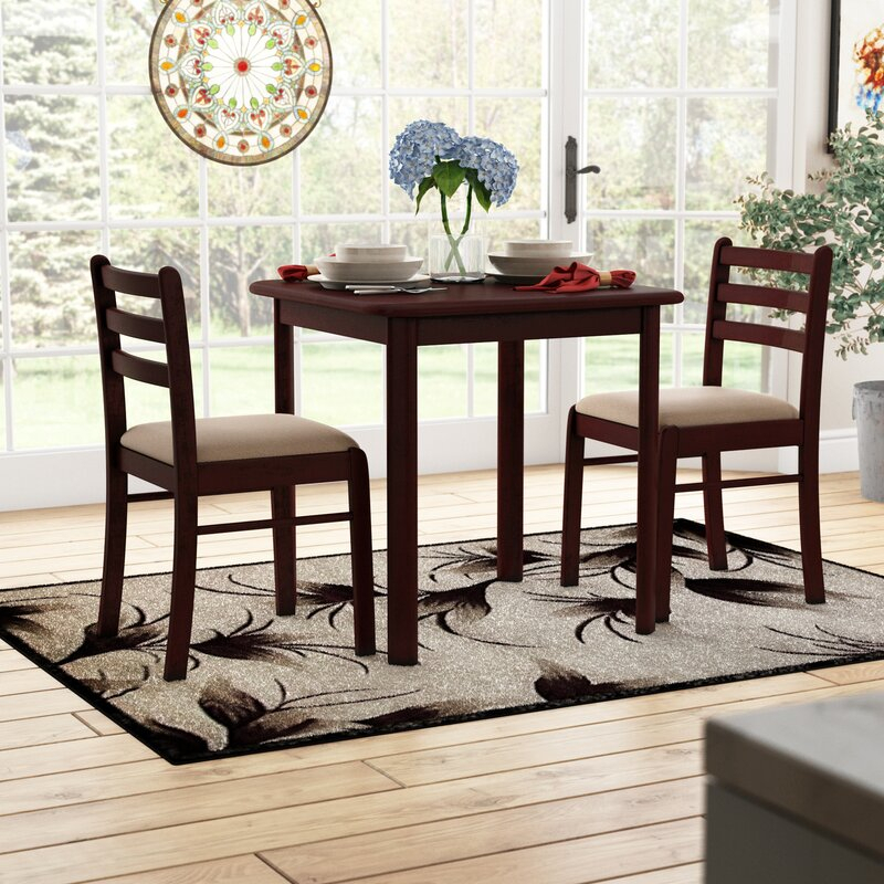 Kinsler 3 Piece Bistro Set Throughout Kinsler 3 Piece Bistro Sets (Photo 2 of 25)