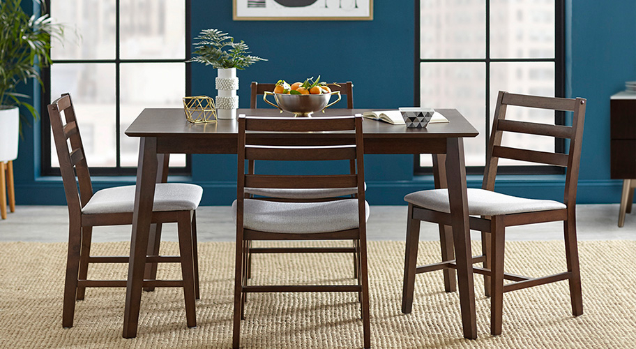 Kitchen & Dining Furniture – Walmart With Regard To Moorehead 3 Piece Counter Height Dining Sets (Image 10 of 25)