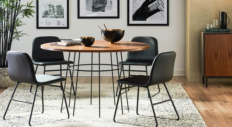 Kitchen & Dining Furniture – Walmart Within Moorehead 3 Piece Counter Height Dining Sets (Image 11 of 25)