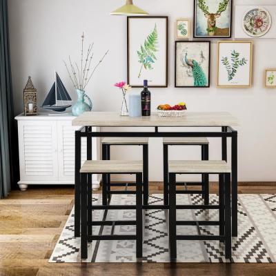 Kitchen & Dining Room Furniture - Furniture - The Home Depot for Northwoods 3 Piece Dining Sets