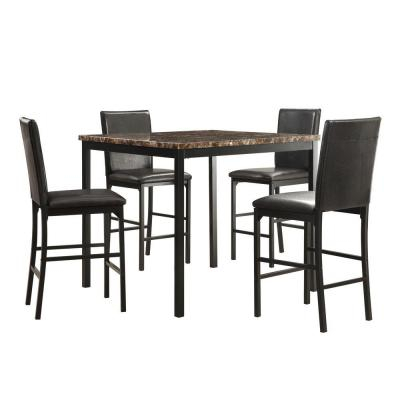 Kitchen & Dining Room Furniture – Furniture – The Home Depot Intended For Bedfo 3 Piece Dining Sets (Photo 16 of 25)