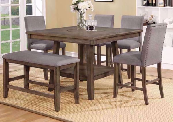 Kitchen Table Set Bar Height – Home Decor Photos Gallery Throughout Winsted 4 Piece Counter Height Dining Sets (Image 13 of 25)