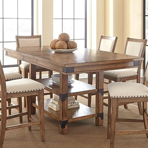 Kitchen Table Set Bar Height – Home Decor Photos Gallery Within Winsted 4 Piece Counter Height Dining Sets (Image 15 of 25)