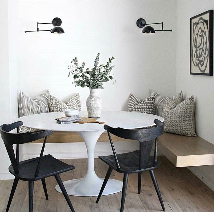 Kym Maloney Design | To Dine In In 2019 | Home Decor, Luxury Dining Throughout Maloney 3 Piece Breakfast Nook Dining Sets (Image 9 of 25)