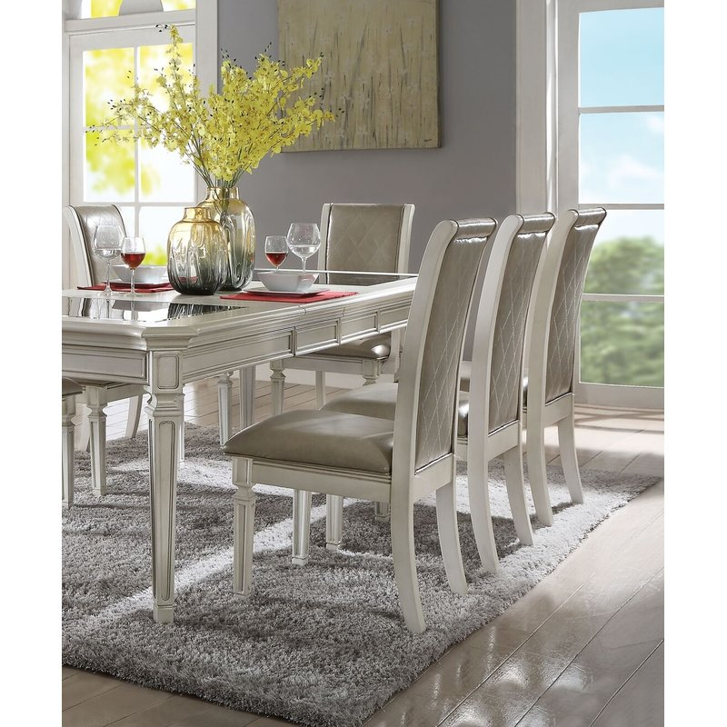 Lamotte Upholstered Dining Chair In Lamotte 5 Piece Dining Sets (View 7 of 25)