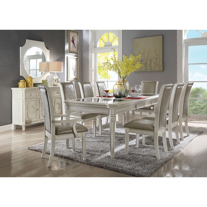 Lamotte Upholstered Dining Chair Pertaining To Lamotte 5 Piece Dining Sets (View 5 of 25)