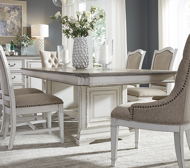 Liberty Furniture | Home Furniture, Home Décor, Furniture Online Inside West Hill Family Table 3 Piece Dining Sets (Image 17 of 25)