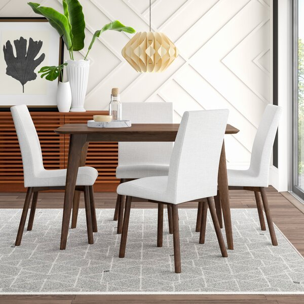Liles 5 Piece Dining Setmercury Row Purchase | Kitchen & Dining With Regard To Liles 5 Piece Breakfast Nook Dining Sets (Image 19 of 25)
