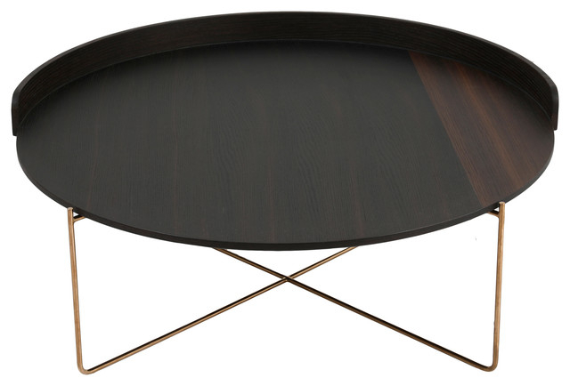 Linette Coffee Table, Dark Brown Intended For Linette 5 Piece Dining Table Sets (Image 12 of 25)