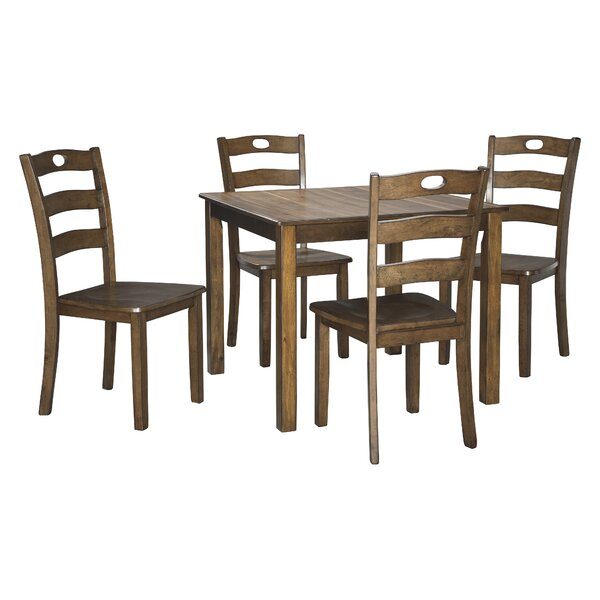 Looking For Hedberg 5 Piece Dining Setcharlton Home Wonderful Regarding Kerley 4 Piece Dining Sets (View 15 of 25)