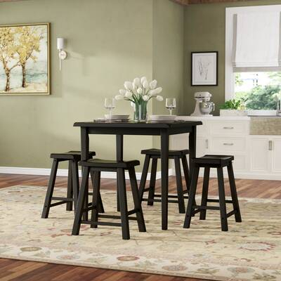 Loon Peak Berrios 3 Piece Counter Height Dining Set & Reviews | Wayfair In Berrios 3 Piece Counter Height Dining Sets (Image 21 of 25)