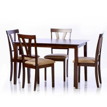 Love This Dining Set From Wayfair/walmart | Home | Dining Room Sets With Baxton Studio Keitaro 5 Piece Dining Sets (View 19 of 25)