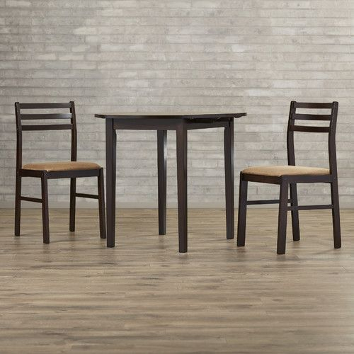 Lynbrook 3 Piece Dining Set | Diy Home | 3 Piece Dining Set, Dining Pertaining To Baillie 3 Piece Dining Sets (View 14 of 25)