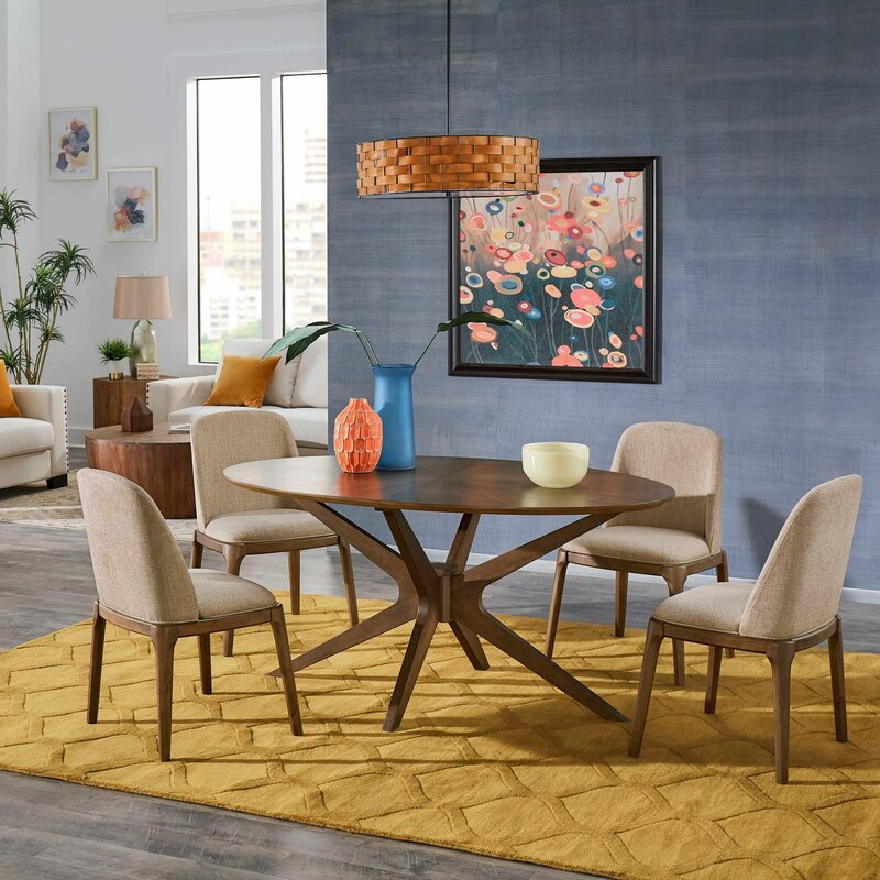 Marano 5 Piece Dining Set With Regard To Pattonsburg 5 Piece Dining Sets (Image 13 of 25)