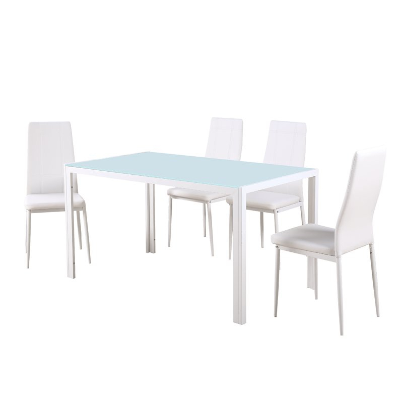 Maynard 5 Piece Dining Set Throughout Lamotte 5 Piece Dining Sets (View 3 of 25)