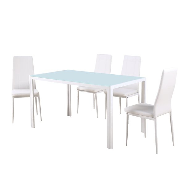 Maynard 5 Piece Dining Set Throughout Maynard 5 Piece Dining Sets (Image 7 of 25)