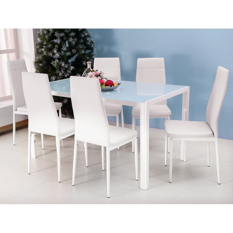 Maynard 7 Piece Dining Set Regarding Maynard 5 Piece Dining Sets (Image 17 of 25)