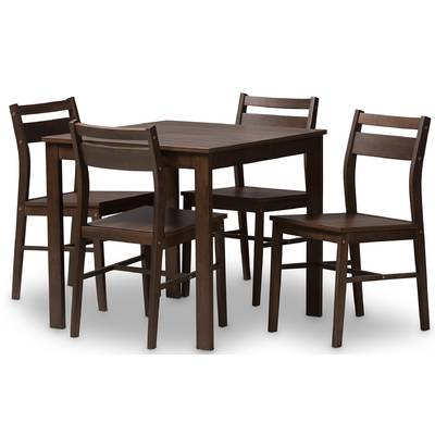 Maynard 7 Piece Dining Set & Reviews | Allmodern Within Maynard 5 Piece Dining Sets (Image 9 of 25)