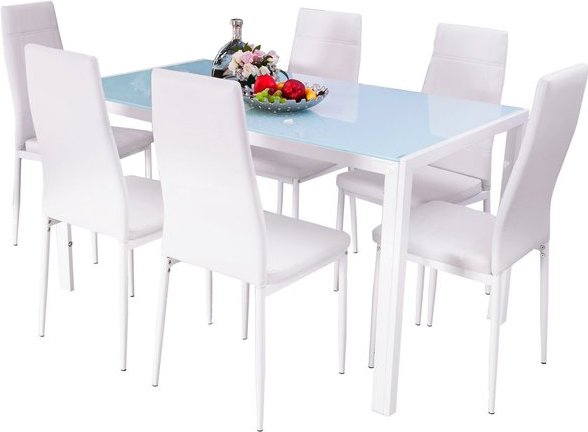 Maynard 7 Piece Dining Set With Regard To Maynard 5 Piece Dining Sets (Image 22 of 25)