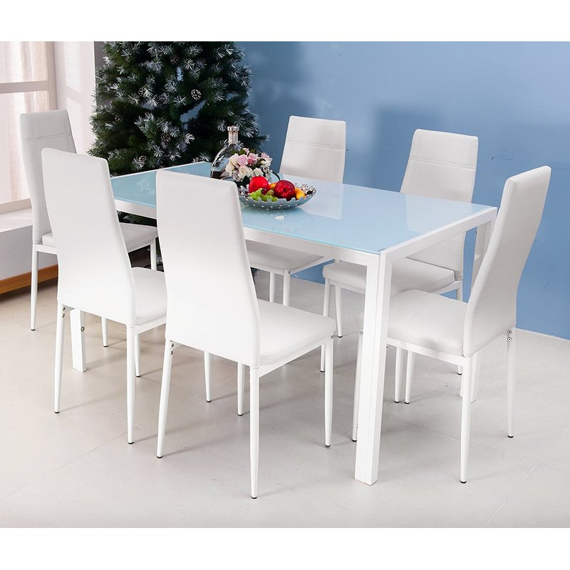 Maynard 7 Piece Dining Set With Regard To Maynard 5 Piece Dining Sets (Image 21 of 25)