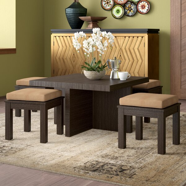 Mercedes 5 Piece Dining Setworld Menagerie 2019 Coupon | Kitchen With Partin 3 Piece Dining Sets (View 13 of 25)
