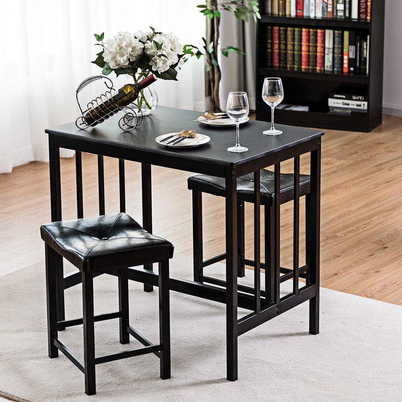 Featured Photo of Miskell 3 Piece Dining Sets
